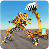 Excavator Robot Transformation: Robot Transforming 1.1