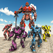 Super Robot Transforming: Robot Car Transform Game 1.6