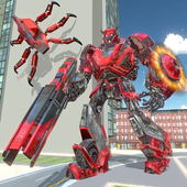 US Police Transform Iron Robot Spider Hero 1.0.3