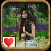 Jigsaw Solitaire - Floral ArtPuzzlePupsBoard