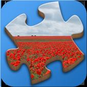 Super Jigsaws PlantsPuzzlePupsBoard