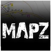 MapZ - DayZ map 1.0