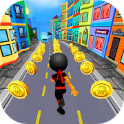 Subway Ninja Run:City Target