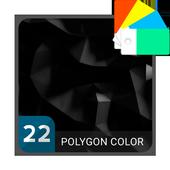 Polygon Black Xperia™ Theme 1.0.0