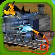 Train Repair Shop Salon2D Fun ClubCasual