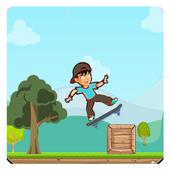 Fun Skater Boy - Simple Skating Adventure Game 2.1.1