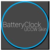 Battery Clock UCCW Skin 1.0