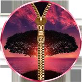Nature Zipper Lock Screen 1.0