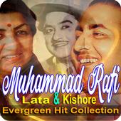 Lata Kishore And Rafi Old Songs 1.0.7