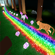 Unicorn Dash Jungle Run 3D