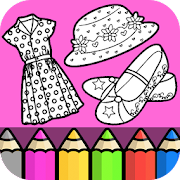 Fashion Dressup Beauty Coloring Book 1.2.1