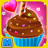 Royale Cupcake Baker Cooking 1.1