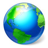Rotating Earth 4K 0.1