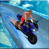 Frozen Water Slide Bike Race 1.0