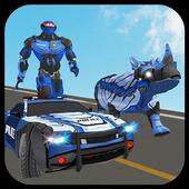 Multi Police Rhino Robotic Car vs Evil Robots 1.1