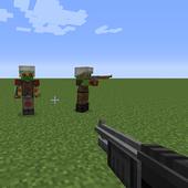 Jimbo's Modern Weapons addon for MCPE 1.1