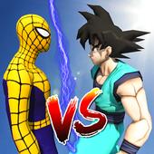 Goku Vs Mutant Spider: Air Battle 1.0