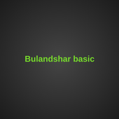 Bulandshar basic education 1.5.0