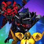Real Futuristic Transformer Robot Steel Fighting 1.0