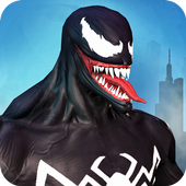 Venom Superhero Spider Grand City Infinity Battle 1,0