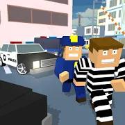 Blocky Cop Craft Running Thief 1.3