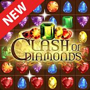 Clash of Diamonds - Match 3 Jewel GamesPuzzle Games - VascoGamesPuzzle