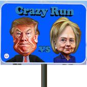 Trump vs Hillary Crazy Run 1.0.3
