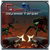 Gunship Aliens Defense Target 1.2