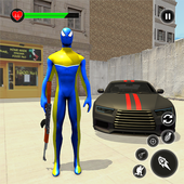 Amazing Spider Rope Hero-Gangster Crime Vice Town 1