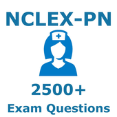 2500 NCLEX PN Questions Exam & Free PN Study Guide 5.6.7