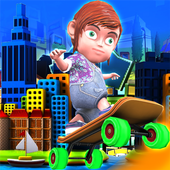 3D City Skater Endless Run 1.3