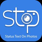 Status Text On Photos (stop) 1.0