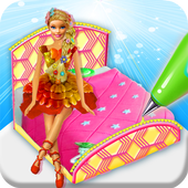 Princess Bed Cake Maker Game! Doll cakes Cooking 1.0