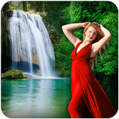 Live Waterfall Photo Frames 1.2
