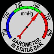 Barometer In Status Bar 3.1.0