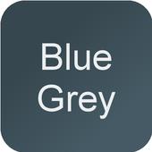 Blue Grey Wallpaper 0.1