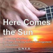 Here Comes the Sun for Guitar 0.1