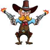 Shoot the CowboyTimbaboAdventure