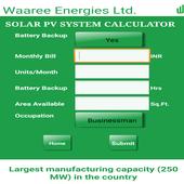 PV Solar Calculator by Waaree 1.2