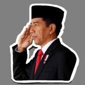 Jokowi Sticker Pack - Sticker for WA 2.0