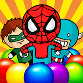 Super Hero Bubble Shooter Bomb 1.0