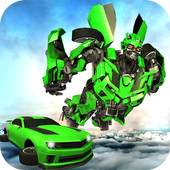 Future Flying Car Transform Robot Wars 1.0.4