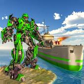 WW2 Naval Battleship Robot Transform Sea Battle 1.0.4