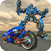 US Police Cop Moto Robot Transform Gangster Chase 1.0.2