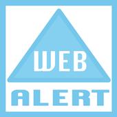 Widget web Alert
