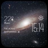 Galaxy2 weather widget/clock 2.0_release