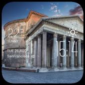 Rome weather widget/clock 2.0_release