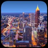 Atlanta weather widget/clock 2.0_release
