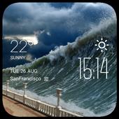 tsunami weather widget/clock 2.0_release