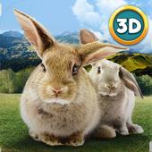 Forest Rabbit Simulator 3DWild Animals LifeAdventure